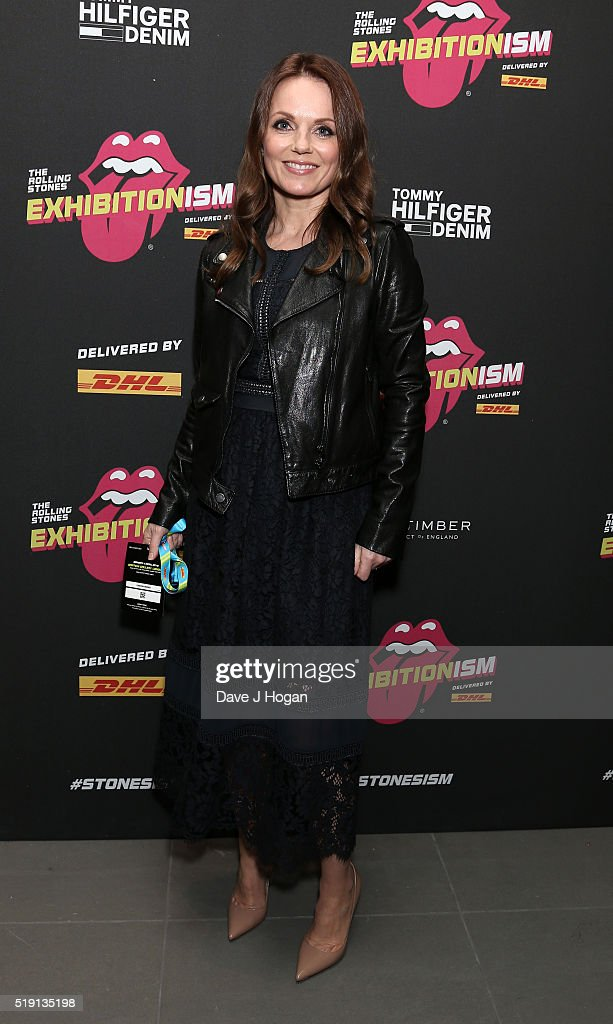 Geri Horner attends an after party for 'The Rolling Stones: Exhibitionism' Saatchi Gallery on April 4, 2016 in London, England.