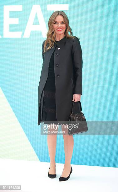 Geri Horner attends The Prince's Trust Celebrate Success Awards at London Palladium on March 7 2016 in London England