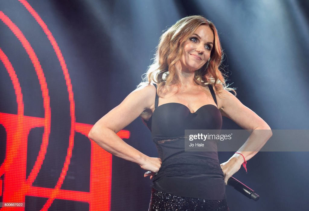 Geri Horner nee Halliwell performs at G-A-Y Club at Heaven on June 24, 2017 in London, England.