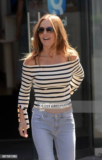 Geri Horner sighting at Global House on June 19 2017 in London England