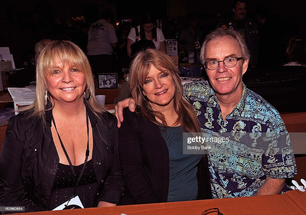 Geri Reischl, <a gi-track='captionPersonalityLinkClicked' href=/galleries/search?phrase=Susan+Olsen&family=editorial&specificpeople=893153 ng-click='$event.stopPropagation()'>Susan Olsen</a> and Michael Lookinland of 'The Brady Bunch' attends the David T. Jones Memorial / Monkees Convention 2013 at the Sheraton Meadowlands Hotel & Conference Center on March 2, 2013 in East Rutherford, New Jersey.