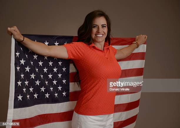 Gerina Piller poses for a portrait during the KIA Classic at the Park Hyatt Aviara Resort on March 22 2016 in Carlsbad California