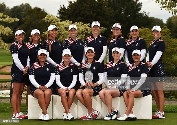 Gerine Piller Angela Stanford Alison Lee Brittany Linicome Michelle Wie Lexi Thompson Brittany Lang and Paula Creamer Lizette Salas Stacy Lewis Team...