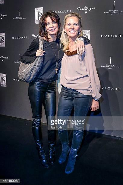 Gerit Kling and Katja Wolf attend the Rolls Royce Studio Opening on January 29 2015 in Berlin Germany