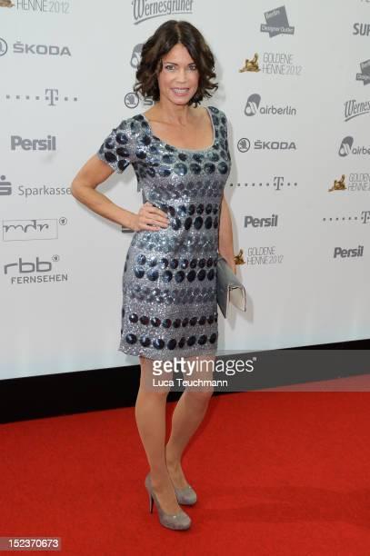 Gerit Kling attends the Goldene Henne Award at the Stage Theater Potsdamer Platz on September 19 2012 in Berlin Germany