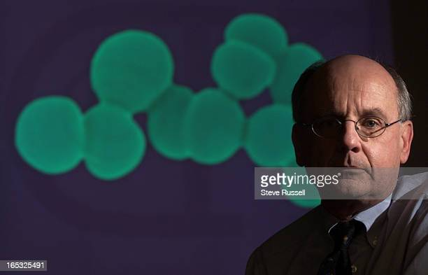 GERM11/23/2001Dr Donald Low is working on a quick test for flesh eating disease and he's the expert on antibiotic resistance in Toronto Ontario...