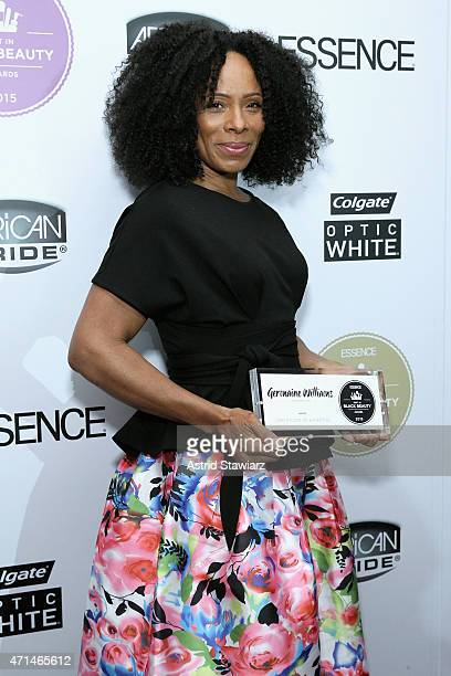 Germaine Williams attends Essence's Best in Black Beauty Awards sponsored by African Pride and Colgate Optic White on April 28 2015 in New York City