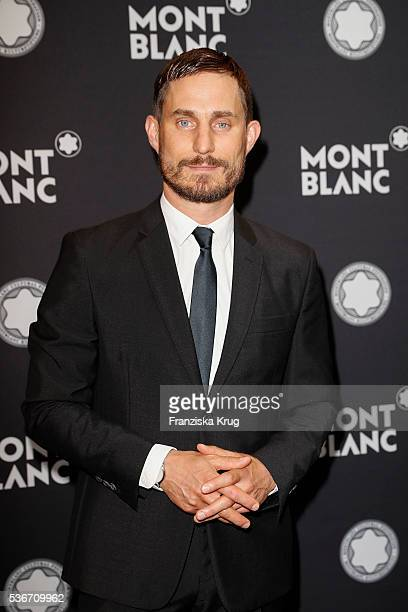 German actor and brand ambassador of Montblanc Germany Clemens Schick attends the Montblanc De La Culture Arts Patronage Award 2016 at Historisches...