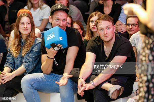 German actor and influencer Daniel Termann and German actor Martin Stange attend the Clich'e Bashing 'Beef mit den Veggies' at DRIVE Volkswagen Group...