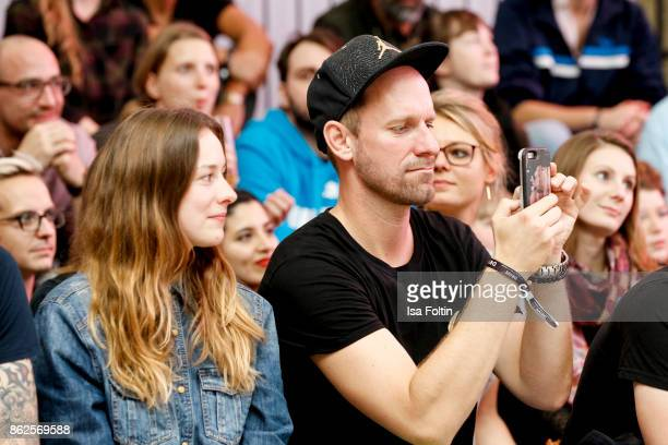 German actor and influencer Daniel Termann attends the Clich'e Bashing 'Beef mit den Veggies' at DRIVE Volkswagen Group Forum on October 12 2017 in...