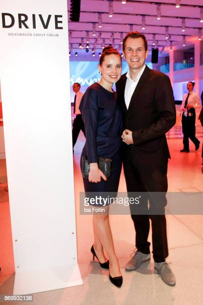 German actor and presenter Malte Arkona and his partner AnnaMaria Listl attend the 19th Media Award by Kindernothilfe on November 3 2017 in Berlin...