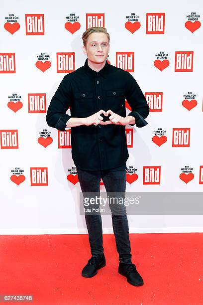 German actor and producer Matthias Schweighoefer attends the Ein Herz Fuer Kinder gala on December 3 2016 in Berlin Germany