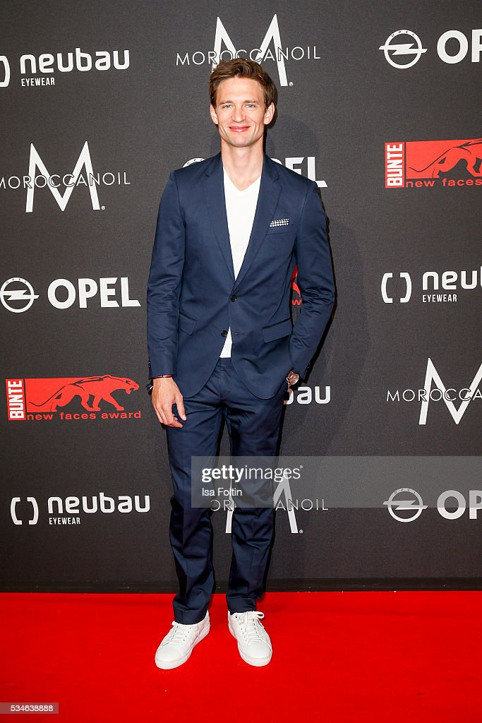 German actor August Wittgenstein attends the New Faces Award Film 2016 at ewerk on May 26, 2016 in Berlin, Germany.
