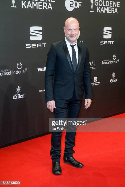 German actor Christian Berkel arrives for the Goldene Kamera on March 4 2017 in Hamburg Germany