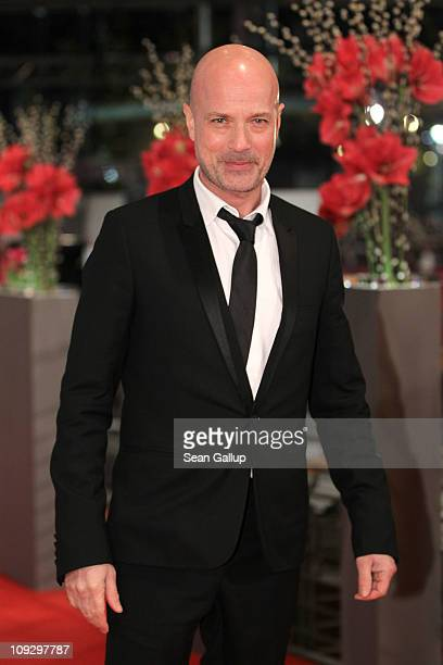 German actor Christian Berkel attends the Award Ceremony during day ten of the 61st Berlin International Film Festival at the Berlinale Palace on...