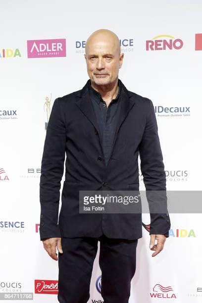 German actor Christian Berkel attends the 'Goldene Bild der Frau' award at Hamburg Cruise Center on October 21 2017 in Hamburg Germany
