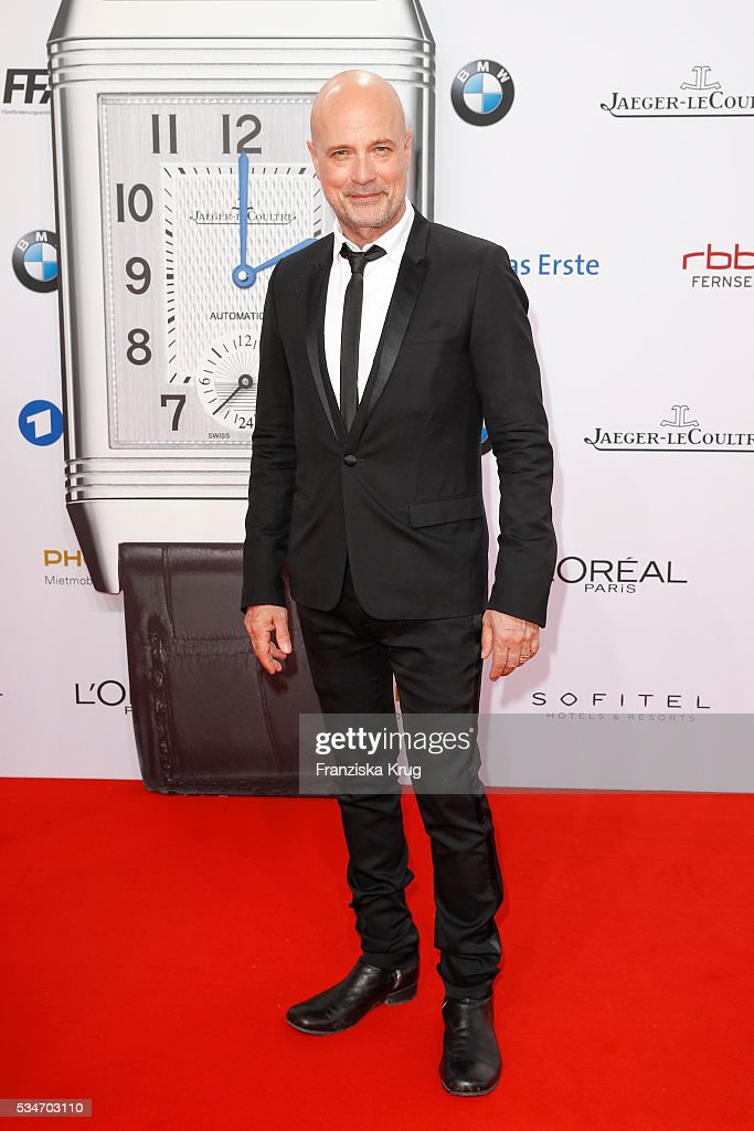 German actor <a gi-track='captionPersonalityLinkClicked' href=/galleries/search?phrase=Christian+Berkel&family=editorial&specificpeople=235949 ng-click='$event.stopPropagation()'>Christian Berkel</a> during the Lola German Film Award (Deutscher Filmpreis) 2016 on May 27, 2016 in Berlin, Germany.