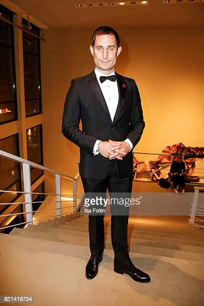 German actor Clemens Schick arrives at the 23rd Opera Gala at Deutsche Oper Berlin on November 5 2016 in Berlin Germany