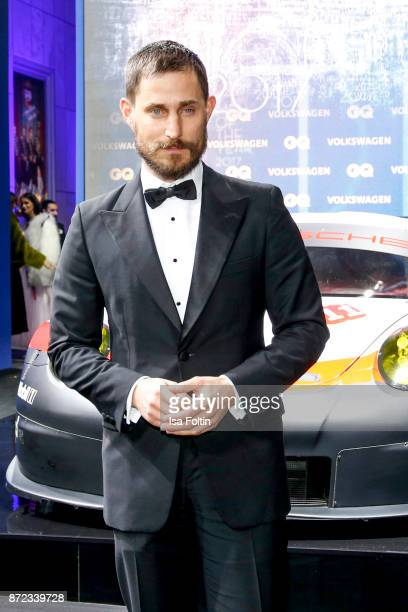 German actor Clemens Schick arrives for the GQ Men of the year Award 2017 at Komische Oper on November 9 2017 in Berlin Germany
