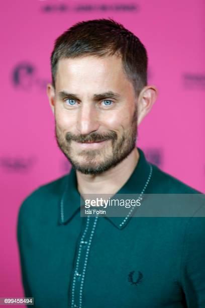 German actor Clemens Schick attend the 'Axolotl Overkill' Berlin Premiere at Volksbuehne RosaLuxemburgPlatz on June 21 2017 in Berlin Germany