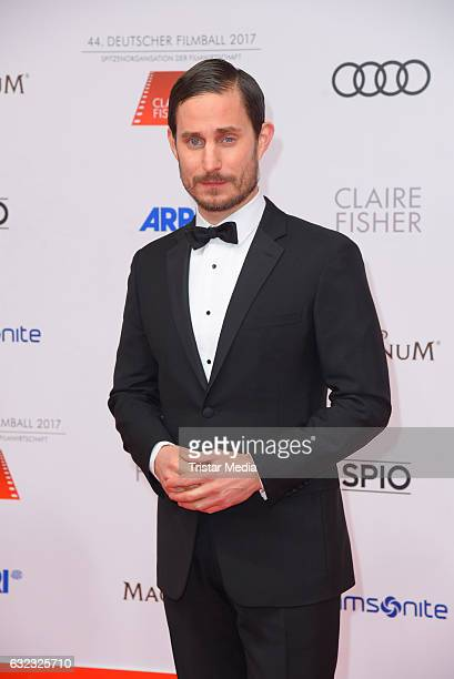 German actor Clemens Schick attends the German Film Ball 2017 at Hotel Bayerischer Hof on January 21 2017 in Munich Germany