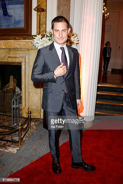 German actor Clemens Schick attends the 'Holiday on Ice' gala at Hotel Atlantic on October 19 2016 in Hamburg Germany