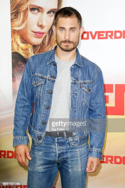 German actor Clemens Schick attends the 'Overdrive' Photo Call at Hotel De Rome on June 21 2017 in Berlin Germany