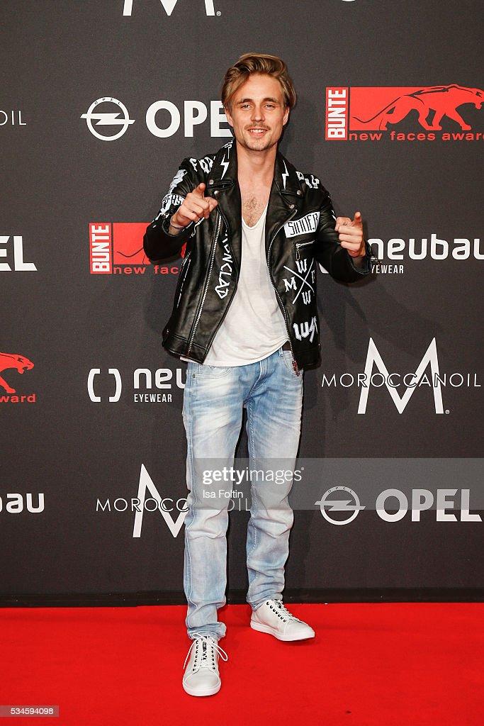German actor Constantin von Jascheroff attends the New Faces Award Film 2016 at ewerk on May 26, 2016 in Berlin, Germany.