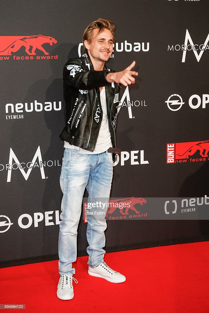 German actor Constantin von Jascheroff attends the New Faces Award Film 2016 at ewerk on May 26, 2016 in Berlin, Germany.