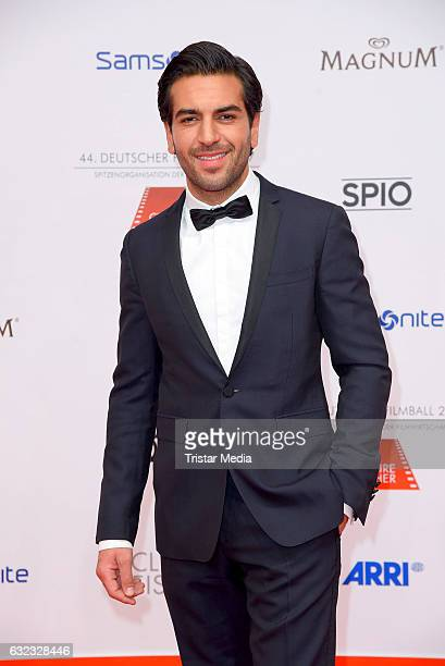 German actor Elyas M'Barek attends the German Film Ball 2017 at Hotel Bayerischer Hof on January 21 2017 in Munich Germany