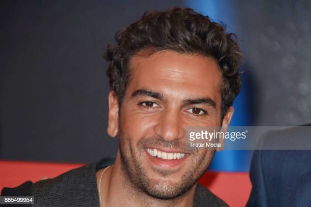 German actor Elyas MBarek during the Photo Call to the TV Show 'Wer weiss denn sowas XXL' on December 2 2017 in Hamburg Germany