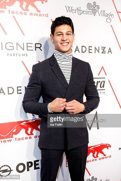 German actor Emilio Sakraya attends New Faces Award Style on November 16 2016 in Berlin Germany