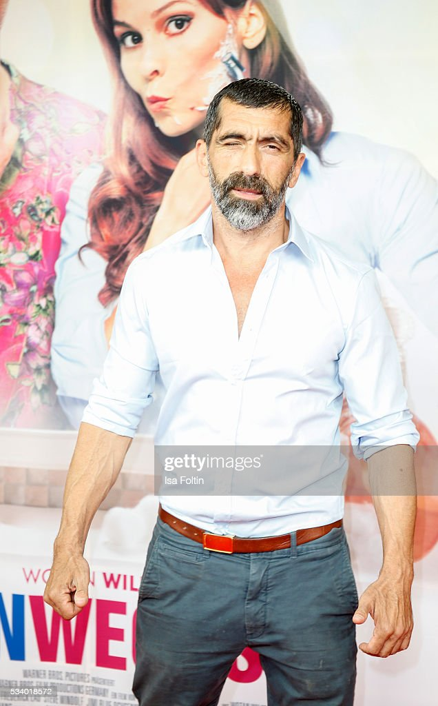 German actor Erdal Yildiz attends the premiere of the film 'Seitenwechsel' at Zoo Palast on May 24, 2016 in Berlin, Germany.