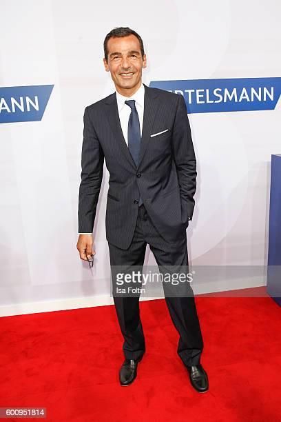 German actor Erol Sander attends the Bertelsmann Summer Party at Bertelsmann Repraesentanz on September 8 2016 in Berlin Germany