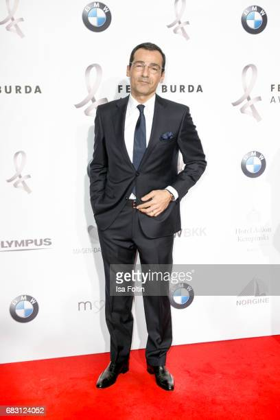 German actor Erol Sander attends the Felix Burda Award 2017 at Hotel Adlon on May 14 2017 in Berlin Germany