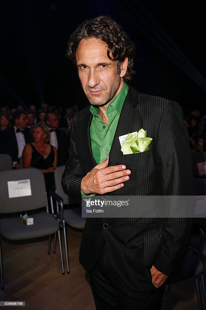 German actor Falk-Willy Wild attends the Green Tec Award at ICM Munich on May 29, 2016 in Munich, Germany.
