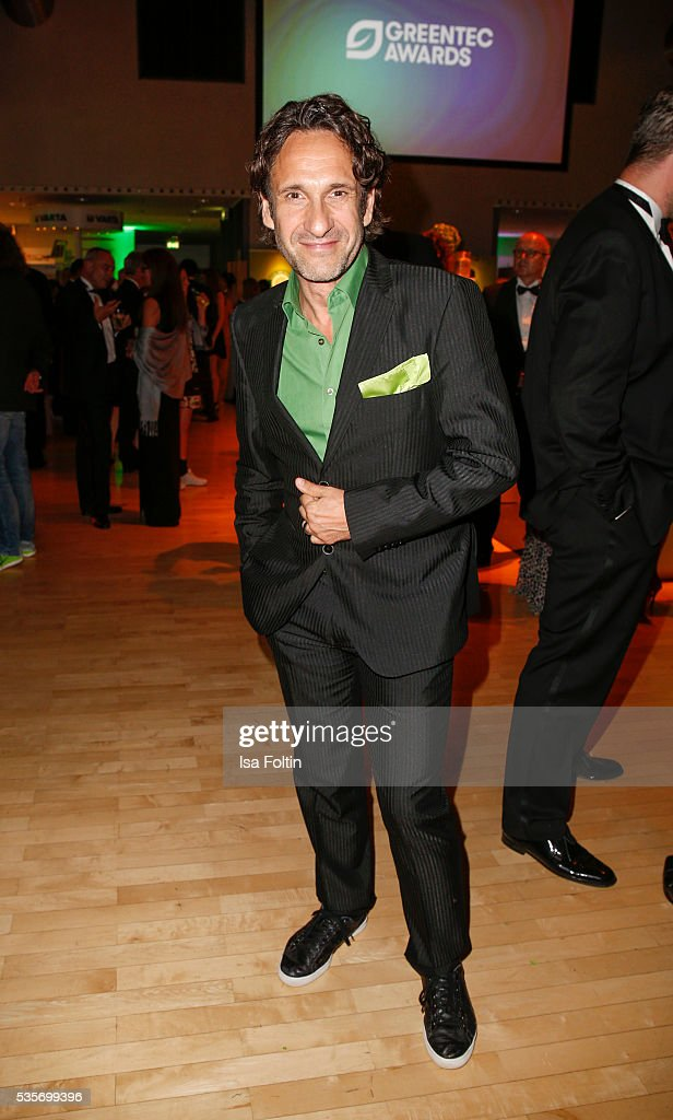 German actor Falk-Willy Wild during the Green Tec Award After Show Party at ICM Munich on May 29, 2016 in Munich, Germany.
