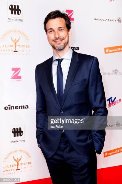 German actor Florian David Fitz attends the Jupiter Award at Cafe Moskau on March 29 2017 in Berlin Germany