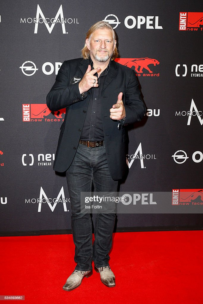 German actor Frank Kessler attends the New Faces Award Film 2016 at ewerk on May 26, 2016 in Berlin, Germany.