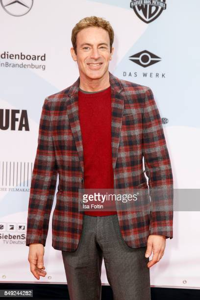 German actor Gedeon Burkhard attends the First Steps Awards 2017 at Stage Theater on September 18 2017 in Berlin Germany