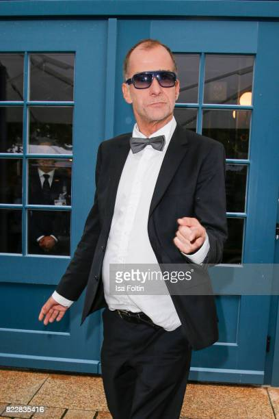German actor Georg Uecker attends the Bayreuth Festival 2017 Opening on July 25 2017 in Bayreuth Germany