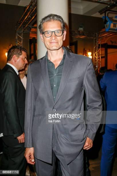 German actor Goetz Otto during the Bayerischer Fernsehpreis 2017 at Prinzregententheater on May 19 2017 in Munich Germany