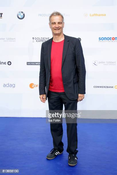 German actor Heinrich Schafmeister attends the summer party 2017 of the German Producers Alliance on July 12 2017 in Berlin Germany