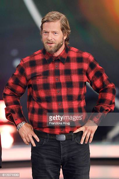 German actor Henning Baum during the tv show 'Willkommen bei Carmen Nebel' at Velodrom on October 1 2016 in Berlin Germany