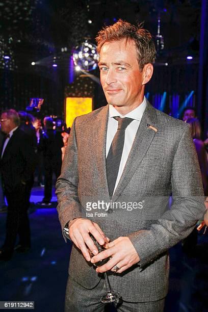 German actor Jan Sosniok attends the Goldene Henne on October 28 2016 in Leipzig Germany