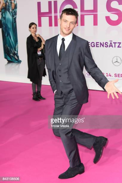 German actor Jannis Niewoehner attends the 'High Society' Premiere at CineStar on September 5 2017 in Berlin Germany