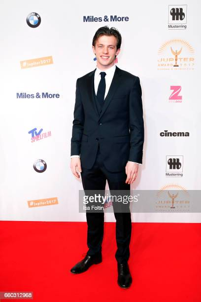 German actor Jannis Niewoehner attends the Jupiter Award at Cafe Moskau on March 29 2017 in Berlin Germany