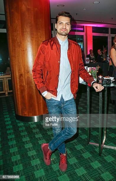 German actor Jimi Blue Ochsenknecht attends the 1st Anniversary Celebration Of Berlin Blonds on December 5 2016 in Berlin Germany