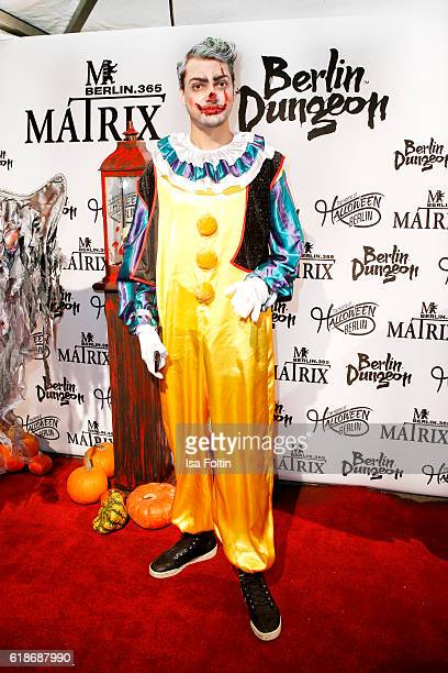 German actor Jimi Blue Ochsenknecht attends the Halloween party by Natascha Ochsenknecht at Berlin Dungeon on October 27 2016 in Berlin Germany