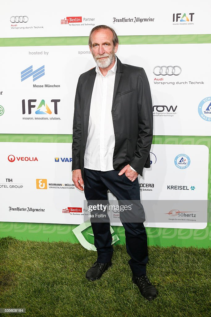 German actor Jochen Nickel attends the Green Tec Award at ICM Munich on May 29, 2016 in Munich, Germany.